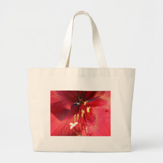 Red Amarillys Canvas Bag