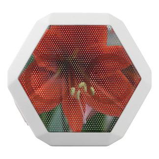Red Amarylis White Boombot Rex Bluetooth Speaker