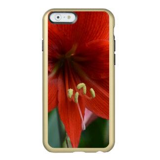 Red Amarylis Incipio Feather® Shine iPhone 6 Case