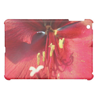 Red Amaryllis Cover For The iPad Mini
