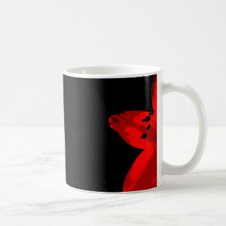 red amaryllis duo coffee mug