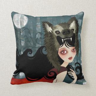 Red American MoJo Pillow