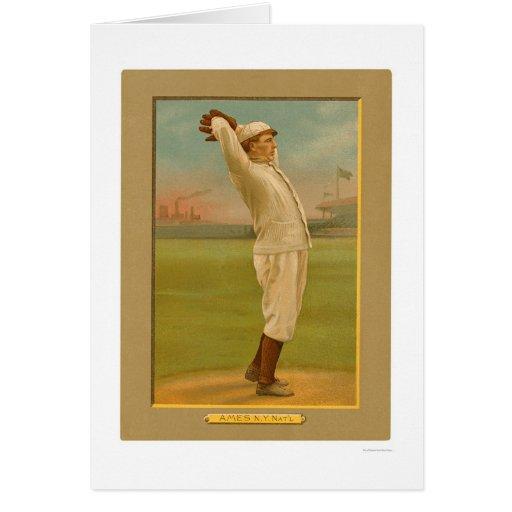 Red Ames Giants Baseball 1911 Card
