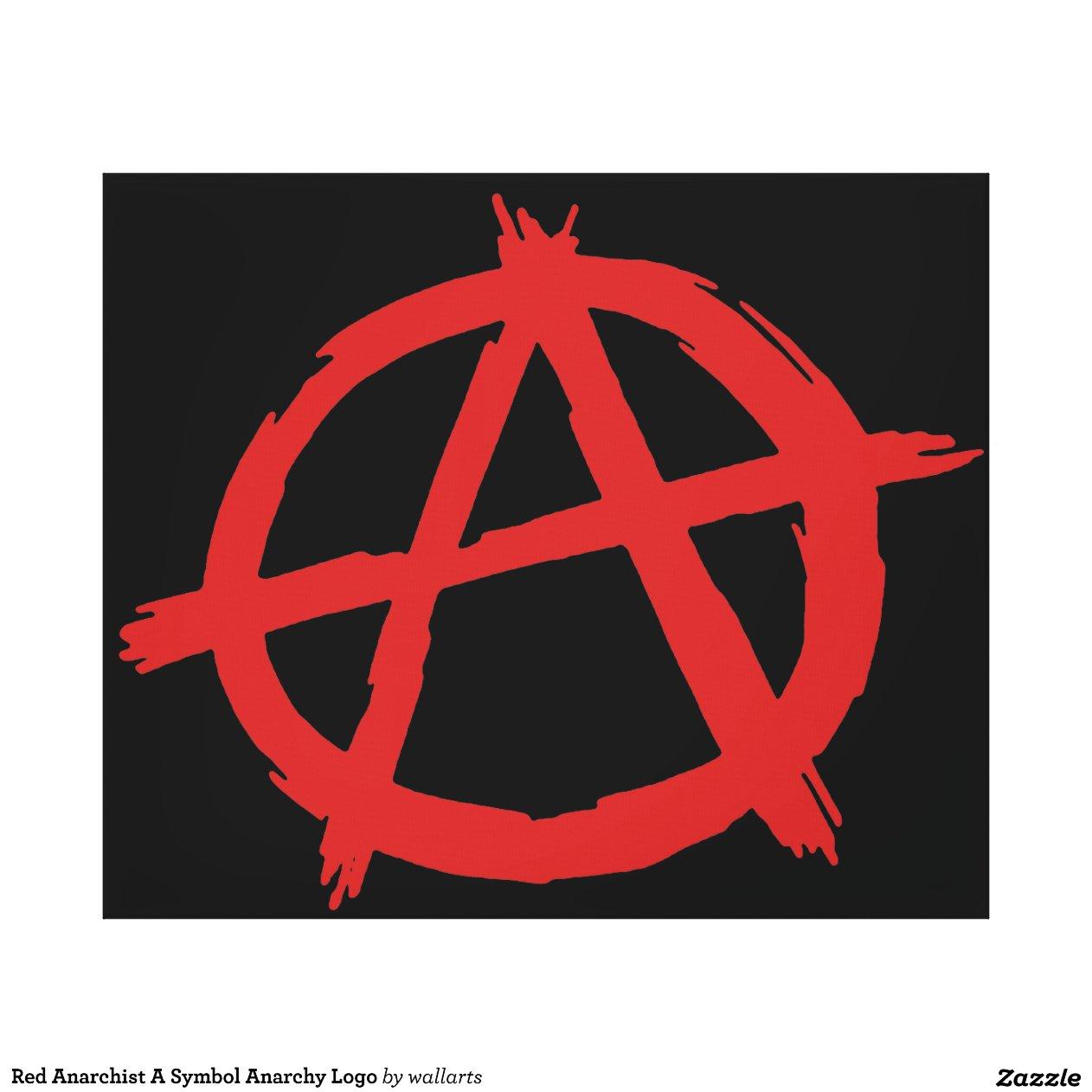 R Symbol Logo Symbol Anarchy Logo Canvas