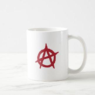 Red Anarchy Symbol Coffee Mug