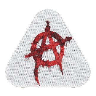 Red Anarchy Symbol Speaker