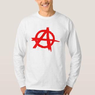 Red Anarchy Symbol T-Shirt