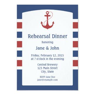 Anchor Rehearsal Dinner Invitations Announcements Zazzle