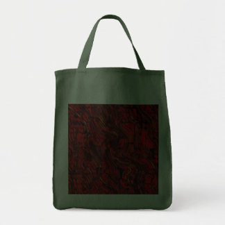 Red and Black Abstract Bags