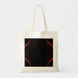 Red and Black Abstract Design. Bag
