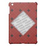 Red and Black Argyle Photo Cover For The iPad Mini