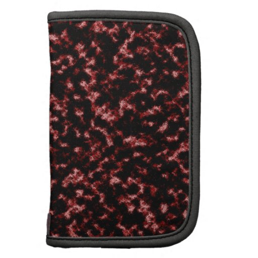 Red And Black Artistic Effects Pattern Organizers