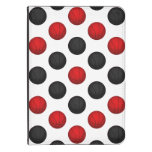 Red and Black Basketball Pattern Kindle Case