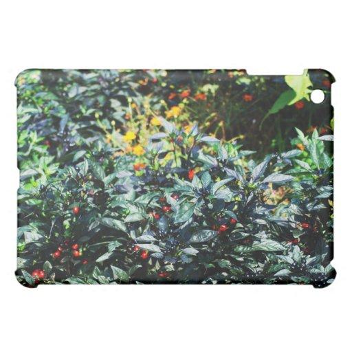 red and black berries iPad mini case
