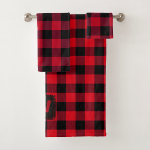 Buffalo Check Bath Towels Zazzle