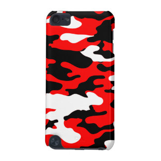 Red and Black Camo iPod Touch (5th Generation) Cover