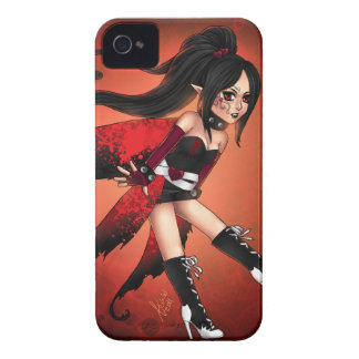 Red and Black Case-Mate iPhone 4 Cases