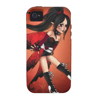 Red and black Case-Mate iPhone 4 cover