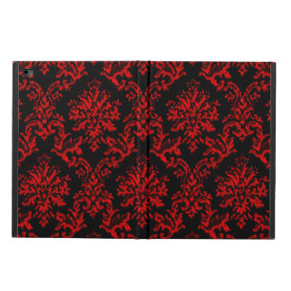 Red and Black Damask iPad Air 2 Case Powis iPad Air 2 Case