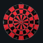 "Red And Black Dartboard<br><div class=""desc"">Red And Black Dart Board</div>"