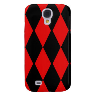 Red and Black Diamonds Samsung Galaxy S4 Cover