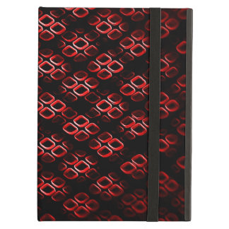Red and black Dimond iPad Air Case
