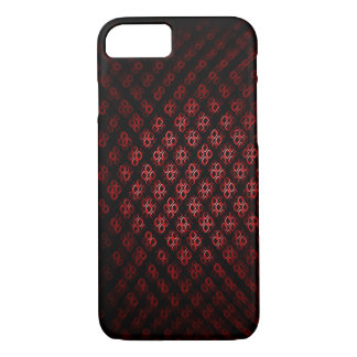Red and black Dimond iPhone 8/7 Case