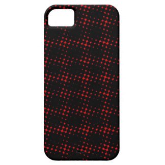 Red And Black Dotted iPhone Case