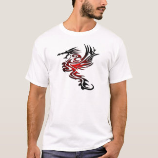 Red and Black Dragon T-Shirt