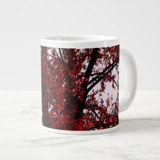 Red and Black Giant Coffee Mug