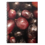 Red and Black Grapes Note Book