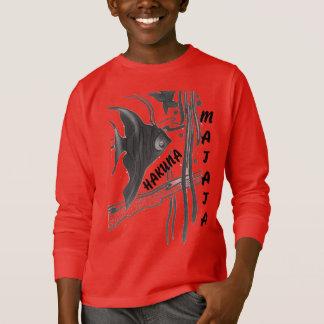 Red and Black Hakuna Matata Sweatshirt