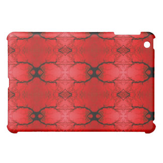 Red and black i pad skin case for the iPad mini