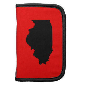 Red and Black Illinois Planner