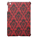 Red and Black iPad Case