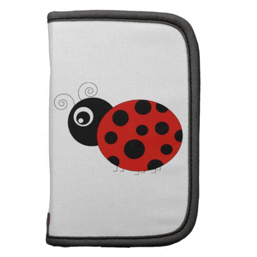 Red and Black Ladybug Planners