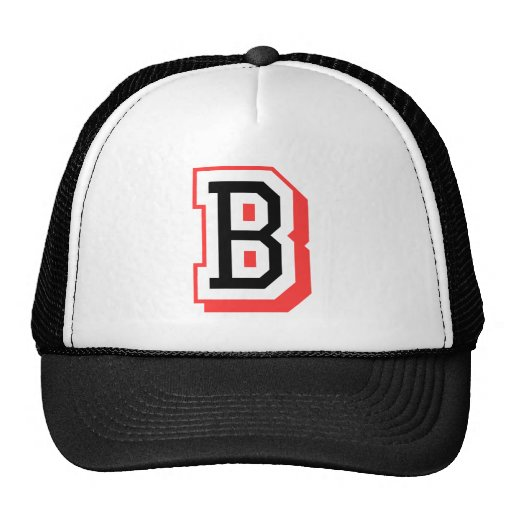 b Logo Red And Black Red And Black Letter b Logo