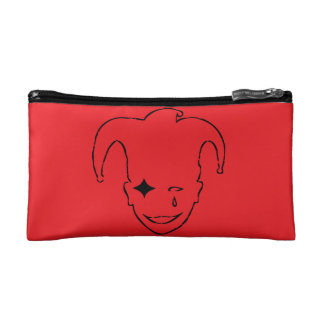 Red And Black MTJ Cosmetic Bag