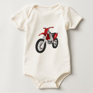 Red and Black Off-Road/Enduro Motorcycle Bodysuit