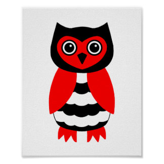 Image result for black and red owl images