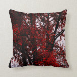 Red and Black Pillow