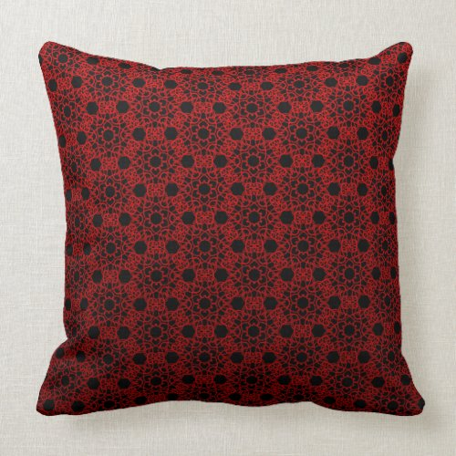Red And Black Pillows