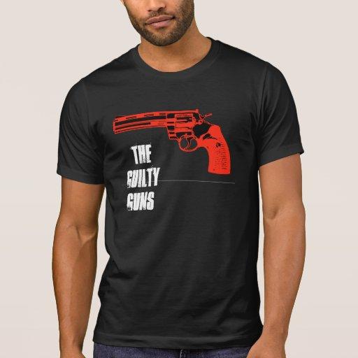Red and Black Revolva, THE GUILTY GUNS T-Shirt