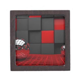 Red and Black Room Keepsake Box