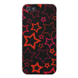 Red and Black Stars iPhone 5 Case