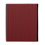 Red and Black Stripes iPad Folio Case
