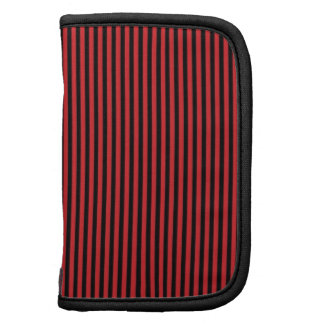 Red and Black Stripes Organizers