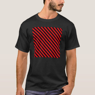 Red and Black Stripes T-Shirt