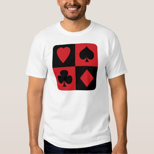 Red and Black Suit Design Tshirt