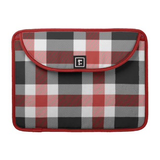 Red And Black Tartan Mac Pro Sleeve Sleeves For MacBook Pro